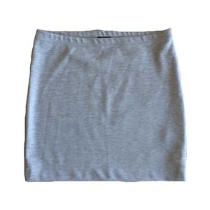 Size S H&M Gray Body Con Stretch Skirt